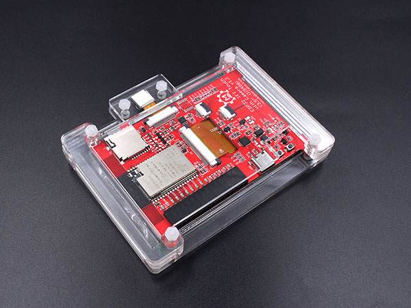 ESP32-3.2-inch-TFT-Touch-with-Acrylic-Case