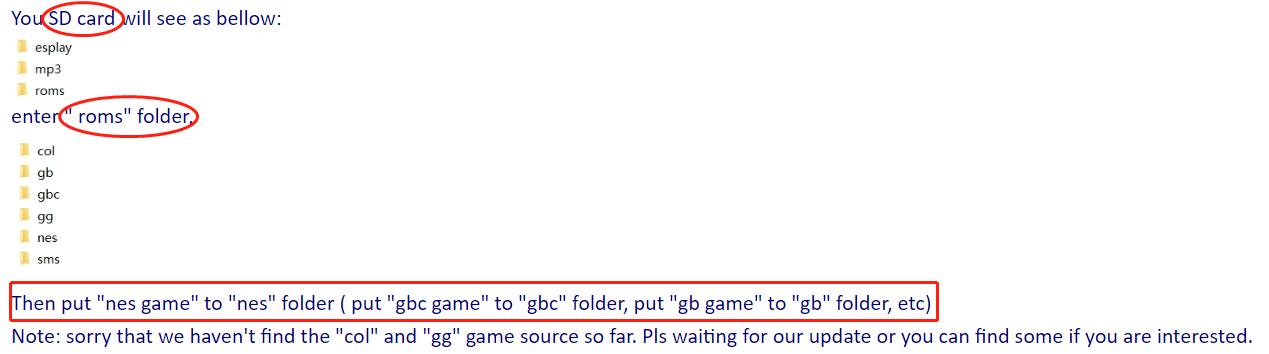 ESPlay-Micro-Update-Games-Guide