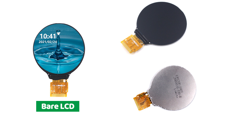 GC9A01-1-28-Inch-Round-LCD-Display