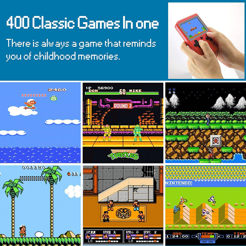 Handheld-Retro-Game-Console-with-400-Classical-FC-Games-1