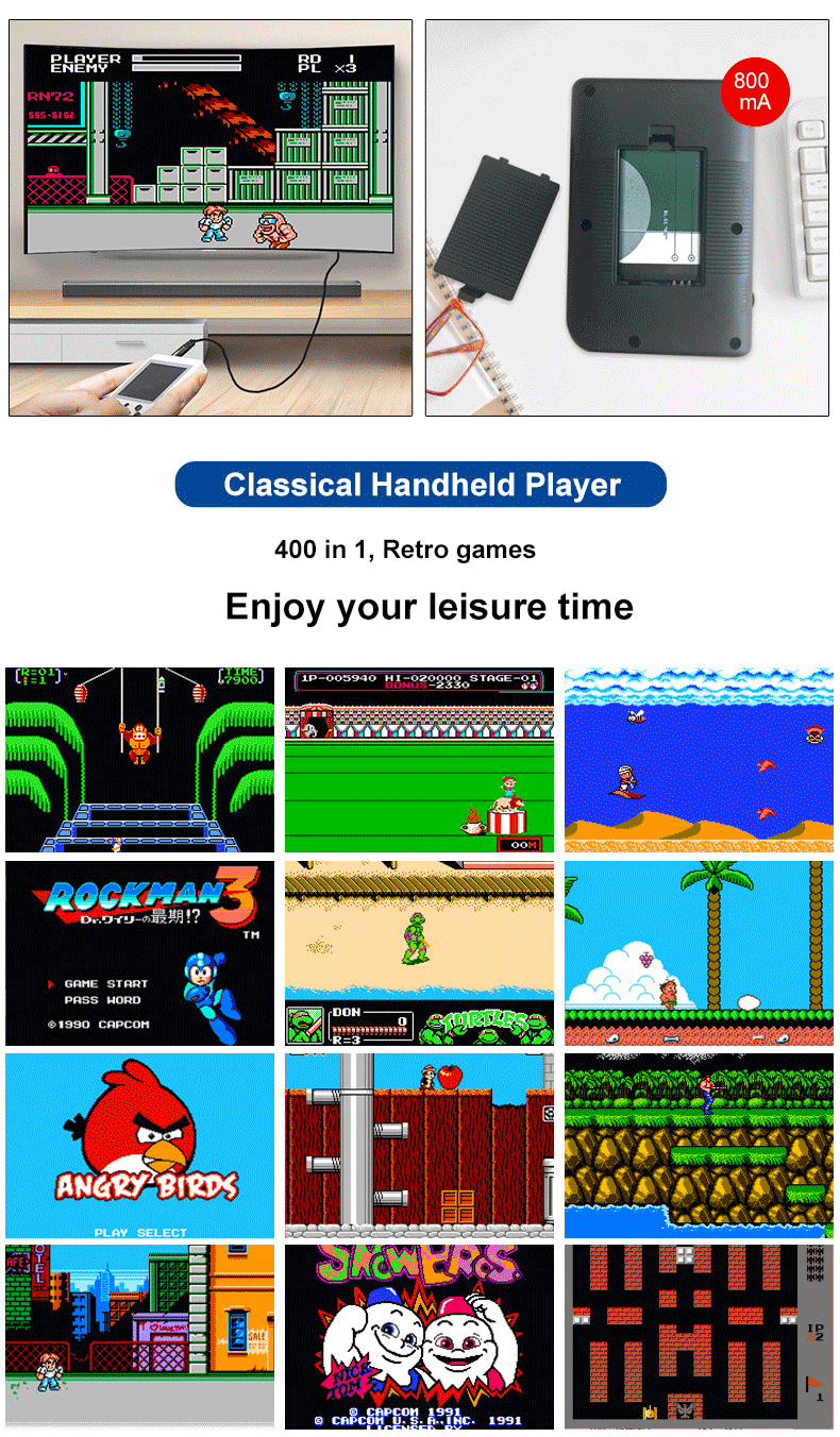Handheld-Retro-Game-Console-with-400-Classical-FC-Games