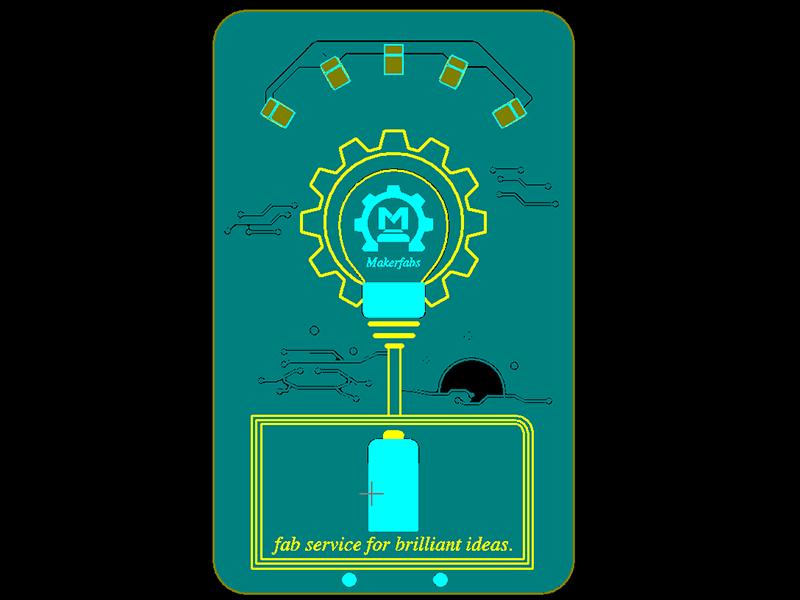 LED-Lamp-PCB-Gerber