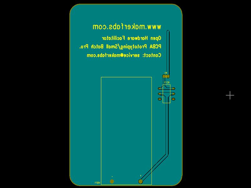 LED-Lamp-PCB-Gerber--Backside