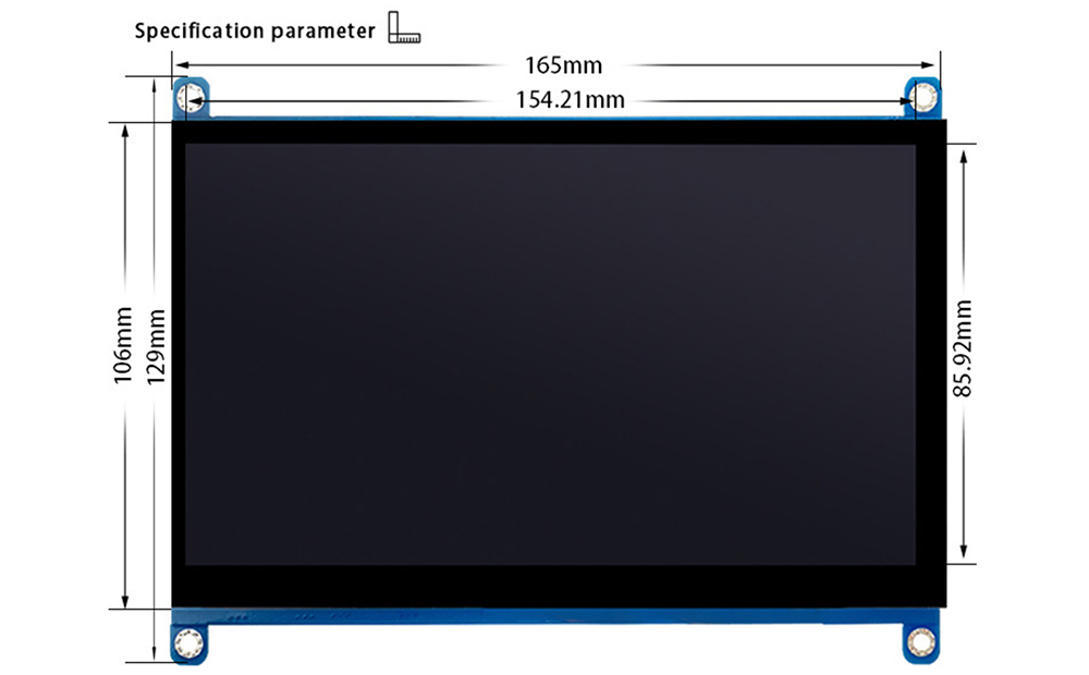 Specification-7-Inch-HDMI-LCD