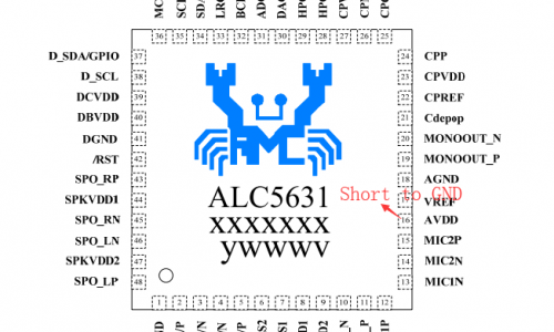 Serious Fake IC ALC5631Q from Realtek