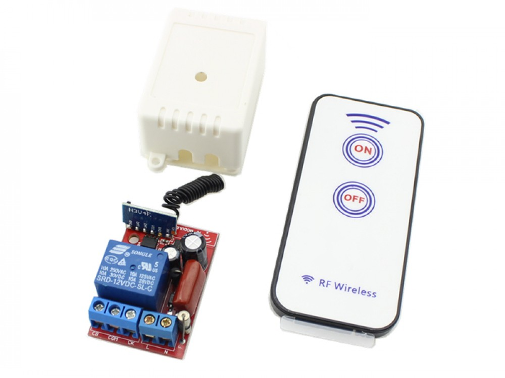 1 Channel RF Remote Controller AC 110V - 220V