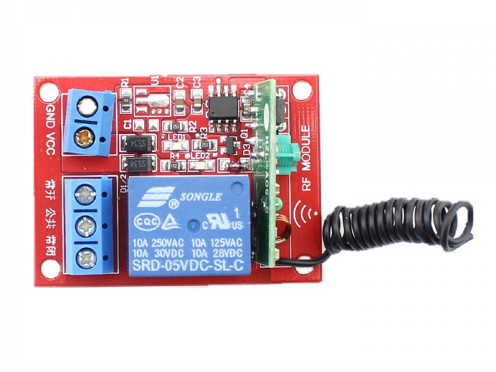 1 Channel RF Remote Controller DC 5V
