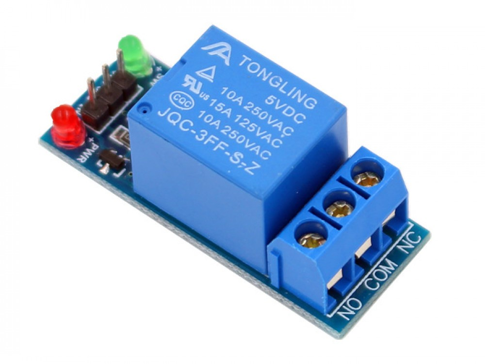 1 Channel Relay Module 10a Makerfabs