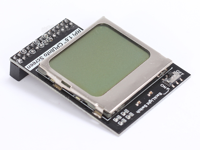 1.6 Inch 84x48 Small LCD for Raspberry Pi