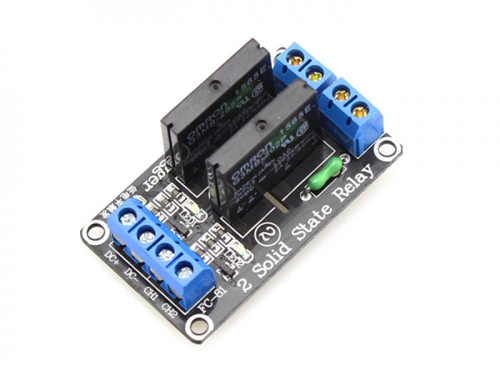2 Channel Solid Relay Module