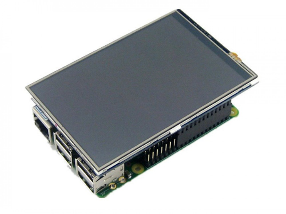 3 5 Inch 480x320 TFT Display with Touch Screen for Raspberry Pi B B+ 2B 3B