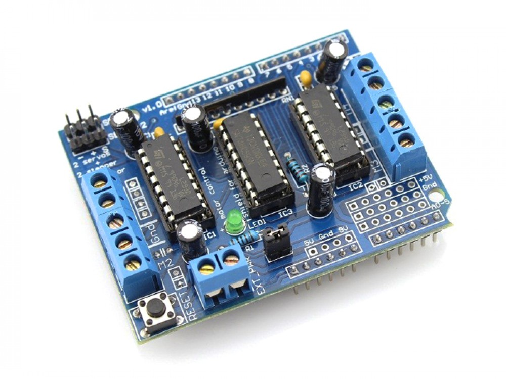 L293D Motor Driver for Arduino