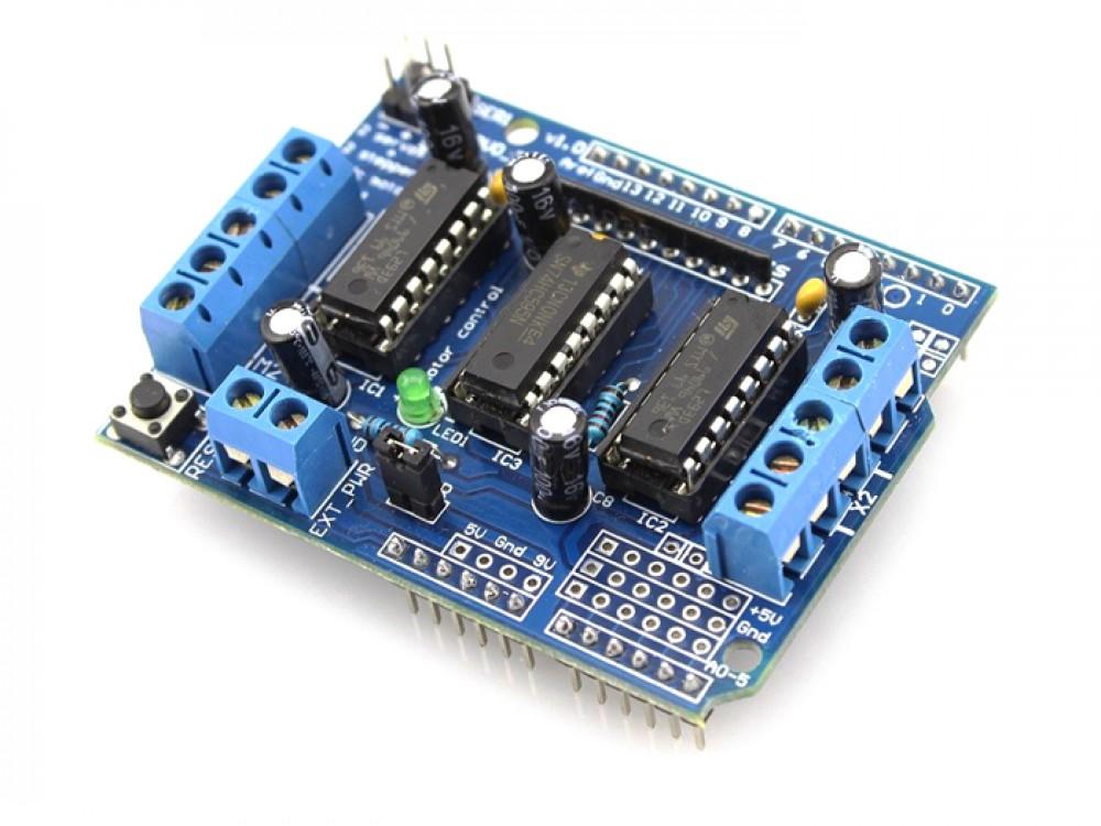 4-Channels L293D Motor Shield For Arduino