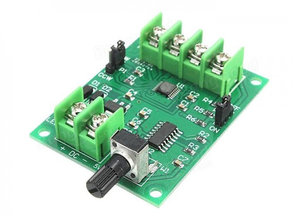 5v 12v dc brushless motor driver 3 4 wire
