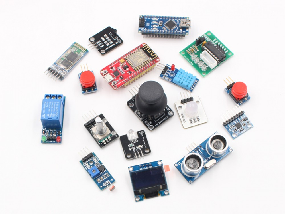 Arduino Nano and NodeMCU IOT Starter Kit