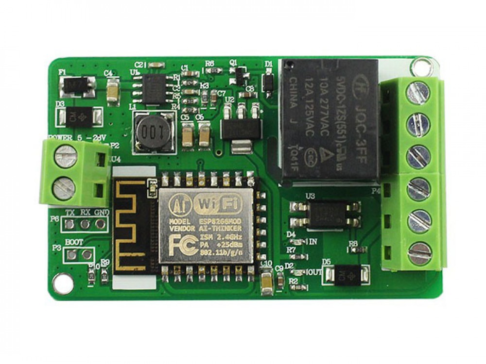 Esp8266 Network Relay Wifi Module Makerfabs