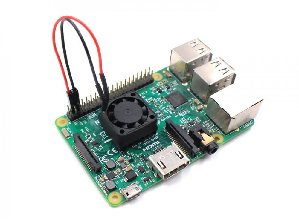 Heatsink with Fan for Raspberry Pi