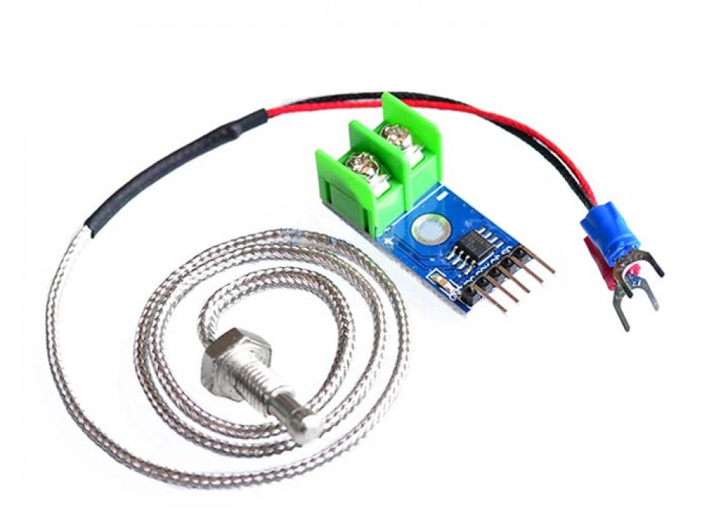 Thermocouple Not Working : K type thermocouple with max a d module