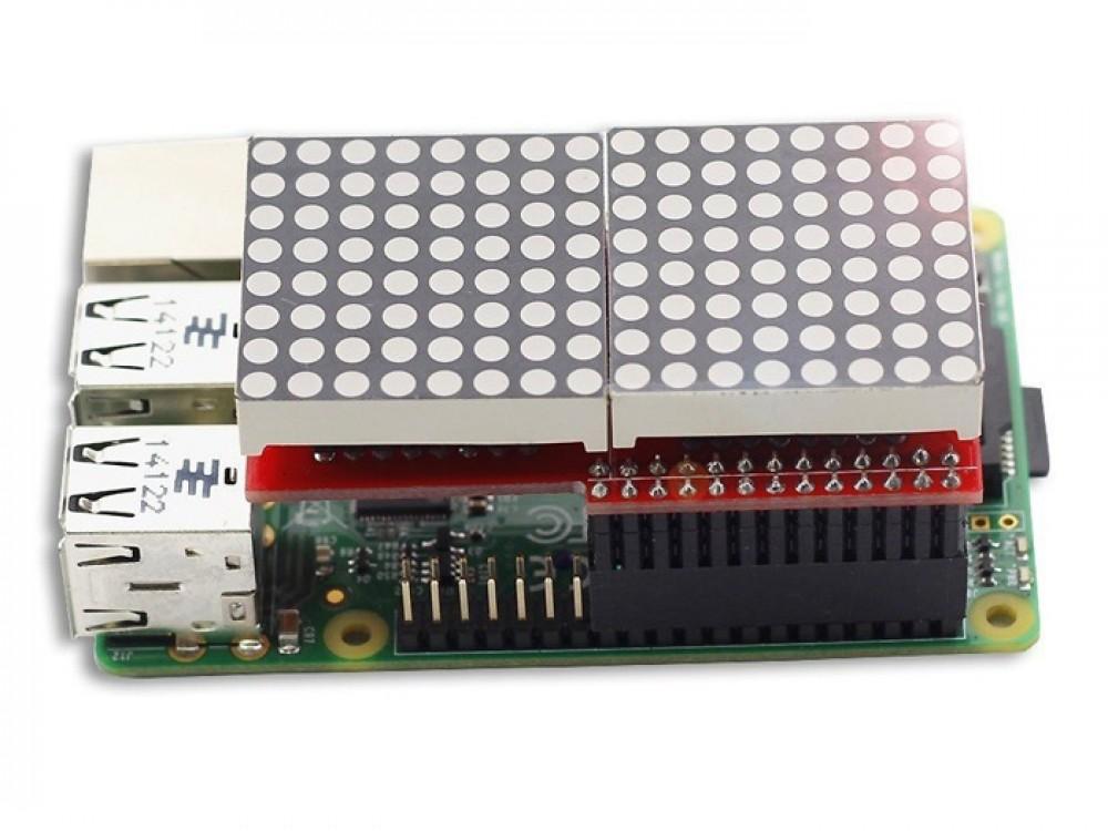 LED Matrix Board for Raspberry PI B/B+