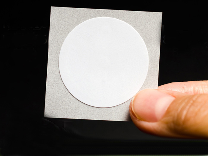 NFC Sticker- White Wet Inlay