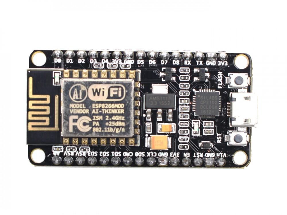 NodeMcu-Lua Based ESP8266 CP2102 Module