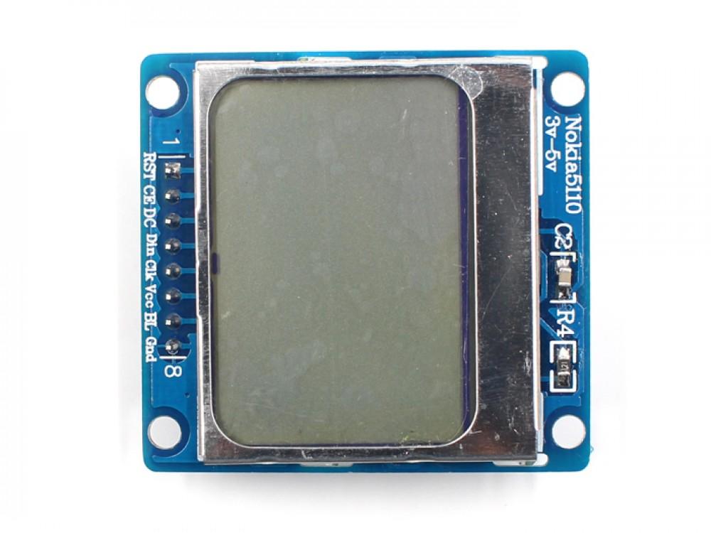 Nokia 5110 Display Makerfabs