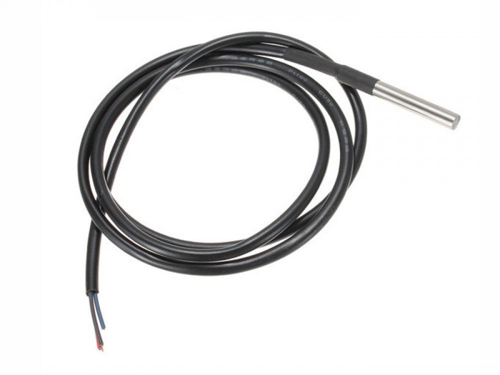 One Wire Waterproof Temperature Sensor Ds18b20