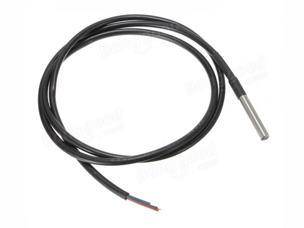 One Wire Waterproof Temperature Sensor DS18B20