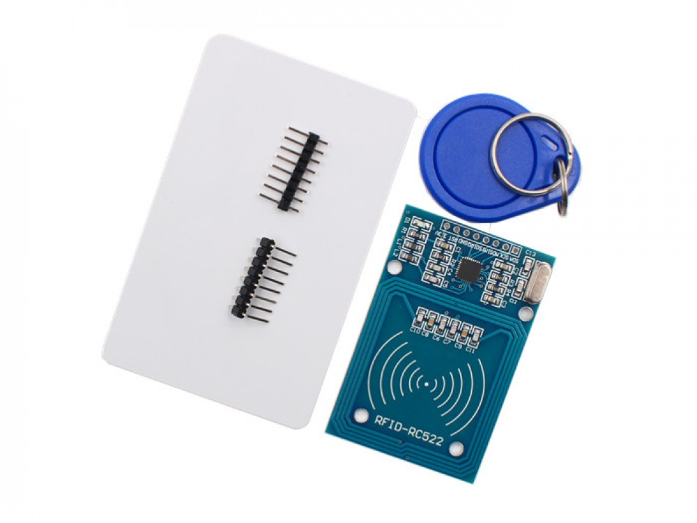 RC522 RFID Reader with Cards Kit- 13 56MHz