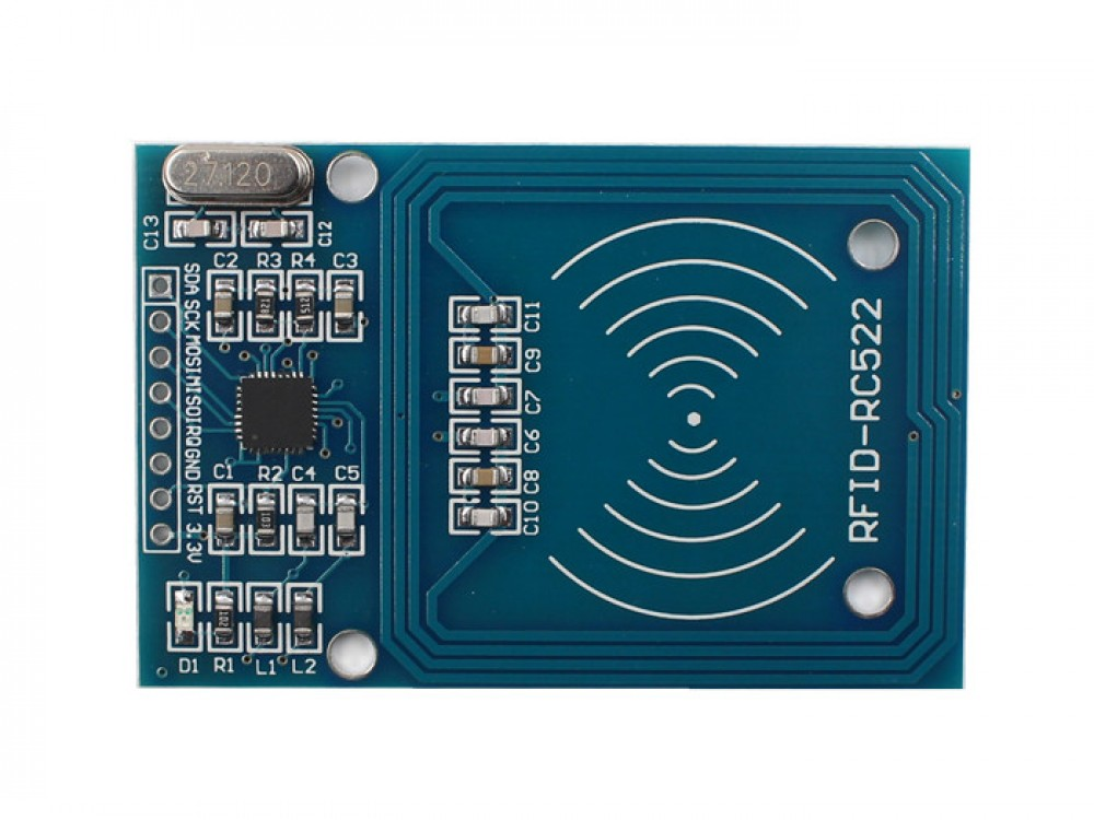 Rc522 Rfid Reader With Cards Kit 13 56mhz Makerfabs
