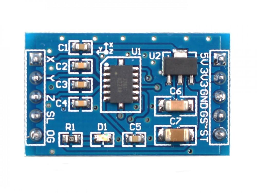 MMA7361 3 Axis Accelerometer Sensor Breakout Board Module for Arduino