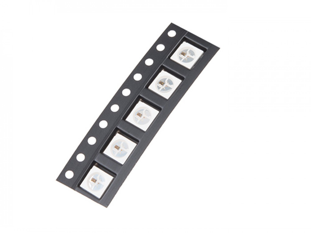 WS2812B RGB LED SMD (5 pcs)