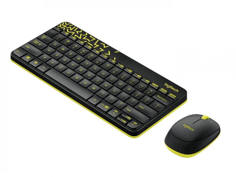Wireless Keyboard and Mouser Logitech MK240 Nano